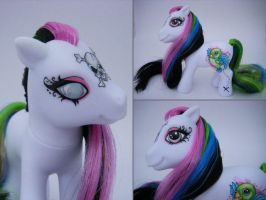 OOAK MLP pony pieces of eight by eponyart