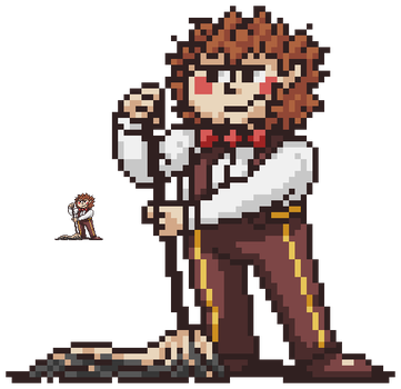 Wally EarthBound Sprite by SilverStarSheep