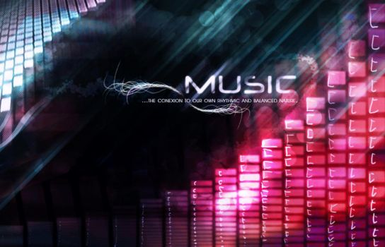 MUSIC...wallpaper by verzerk
