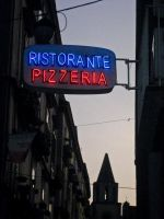 Letrero en Napoles - Sign in Naples by REI-BCN