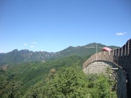 View from The Great Wall 2 by Laura-in-china