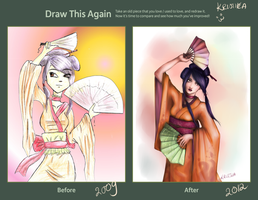 Draw this again challenge 2009-2012 by kristika