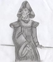 Frollo - In Thought (Shadowed Concept Art) by yami0815