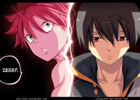 Fairy Tail 373 - Natsu and Zeref / Colab by StingCunha