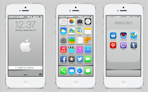 iOS 7 by LUFT5THOR