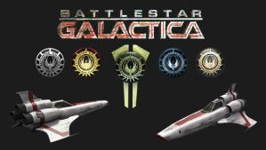 Battlestar Galactica by The-Lonely-Wolf