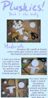 Plushie Tutorials: The Body pt. 1 by MissLunaRose
