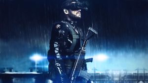 Metal Gear Solid Ground Zeroes HD Wallpaper by keereeyos
