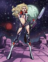 Barbarella by MechaBennett