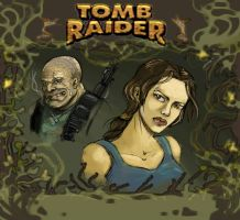 Tomb Raider fanfic cover by MarylinFill