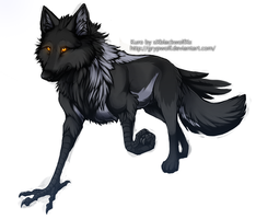 Kuro - Commission by Grypwolf
