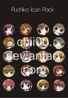 Puchiko Icon Pack by chii00