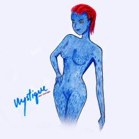 Mystique by jeari-sharingan