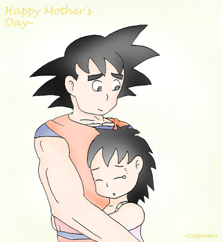 Happy Mother's Day - Gine/Goku by coldphoenix1