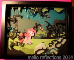 Pinkie Pie Shadowbox by MelloReflections