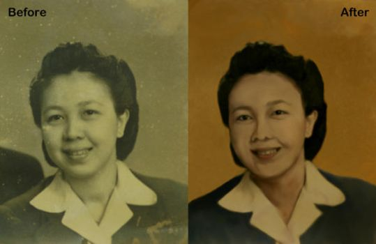 Restoration BW-color by 6FM