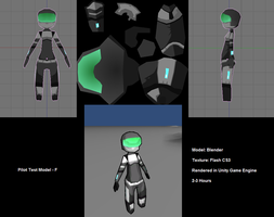 Space Game Test Model by Greeneye-s