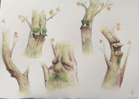 It's about trees by LadyWhiteS