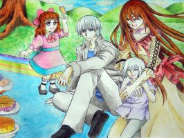 Vampire Knight: Family Picnick by 28maeko