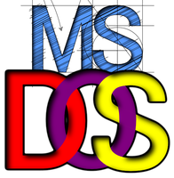 MS-DOS Logo by Captjc