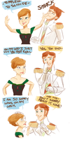 Frozen Actor!AU- Mishap by maybelletea
