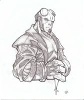 Hellboy by SlyAguilar