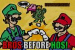 SMB: Bros before Hos by Doofapus