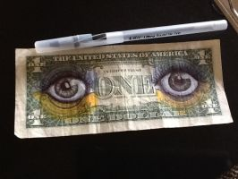 Dollar Bill by dead5cout