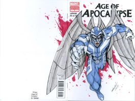 Archangel sketch cover by mdavidct