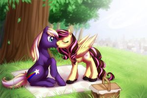 First kiss by ShinePawPony