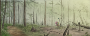 Life returns to the Forest by Hewison