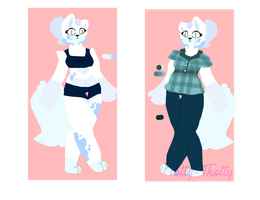 Ref sheet commissions by Totty-Thotty
