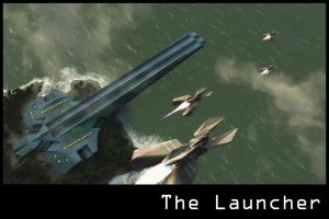 The Launcher Print by dmaland