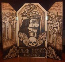Vlad the Impaler triptych by runehammer9