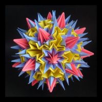Kusudama 12 by lonely--soldier