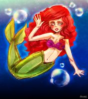The little mermaid by Demachic