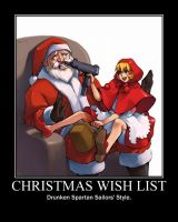 Motivation - Xmas Wish List by Songue