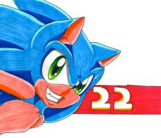 Sonic 22 by DgShadowChocolate