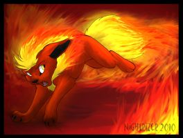 Flames From Flareon by Nightrizer