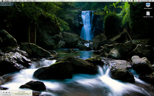 Waterfall Desktop by ashelee00