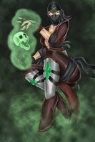 female ermac_mk rebirth by monkeydonuts246