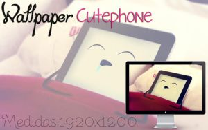 Wallpaper cutephone by jessy-izan