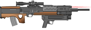 Walther 2000 assault rifle by kfirpanther3