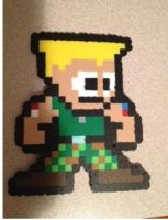 Pixel Art Guile by Derrico13