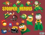 DigiDoodles 22 - Stooper Heroes by simpleCOMICS
