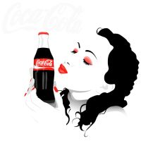 Coca-Cola Kiss by ElectraSinclair