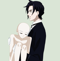 Claude Faustus Carrying Oc Base by TFAfangirl14