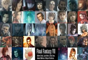 Final Fantasy VII wallpaper by CAiTsIthofShinRa