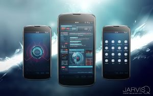 Ironman JARVISQ Theme for Android by theNBT