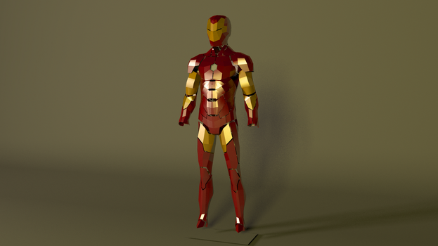 Ironman Mk Transformational Low Poly Post Cosplay by GexANIMATOR